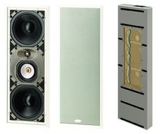 In wall speakers provide an ideal home theatre solution that is discreet, yet still provide sound that is comparable to traditional speakers.