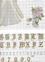Gallery.ru / Фото #4 - boda1 - anacris133 Cross Stitch Books, Alphabet And Numbers, Free Pattern, Stitches, Gallery, Grooms, Couples, Wedding, Cross Stitch