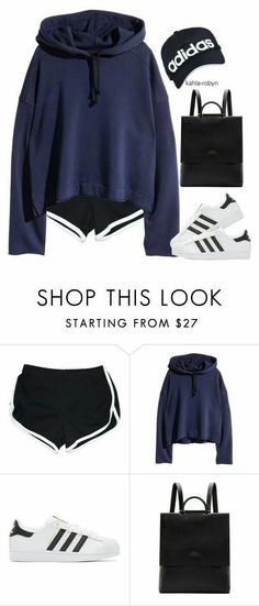 Designer Clothes, Shoes & Bags for Women Fall College Outfits, Lazy Outfits, Sporty Outfits, Teenager Outfits, Summer Outfits, Teen Fashion, Korean Fashion, Fashion Outfits, Womens Fashion