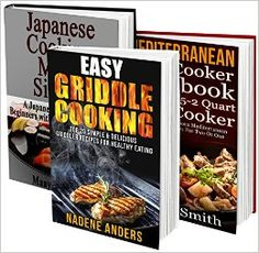 Cooking Made Simple BOX SET 3 IN Ultimate Cookbook For Any Occasion: 53 Japanese, Mediterranean And Griddle Recipes! griddle recipes, international recipes), a must have. Griddle Recipes, Slow Cooker Recipes, Crockpot Recipes, Cooking Recipes, Cooking For Two, Cooking Light, Food Reviews, International Recipes, Freezer Meals