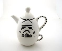 Star Wars Storm Trooper Teapot by Lenny Mud