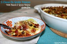 Free Au-Gratin Potatoes with Bacon & Green Onions | Recipe | Cheese ...
