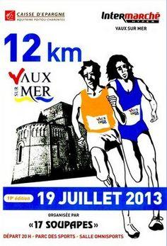 12km de Vaux sur mer. Le vendredi 19 juillet 2013 à Vaux sur Mer.  20H00