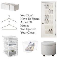 Organized Closet On A Budget | Neatly Designed