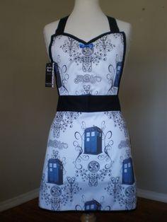 Dr Who Tardis full apron