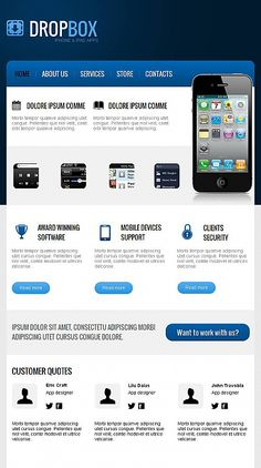 Software facebook html cms template template 44105 software iphones apps theme for facebook business page 59 epublicitypr flashek Choice Image