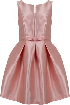 Dostępne różne rozmiary – niezwykle elegancka sukienka w pięknym, pastelowym różowym kolorze – mocno rozkloszowany fason, dodaje dziewczęcości i wyjątkowej gracji – śliczna kokardka, podkreśla talię – sukienka z mięsistego, dość sztywnego materiału – utrzymuje rozkloszowany fason – sukienka stworzona dla kobiet o pełniejszych biodrach – ciekawy dekolt z kuszącym rozcięciem – sukienka na szerszych