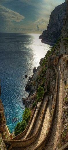 Via Krupp - Capri