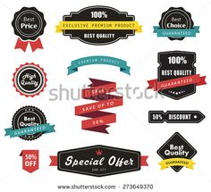 Vector set of Labels, Banners Ribbons and Stickers./Vector set of Labels, Banners Ribbons and Stickers/Vector set of Labels, Banners Ribbons and Stickers Free Vector Art, Sample Resume, Stickers, Ribbons, Banners, Things To Sell, Royalty, Image Vector, Marketing