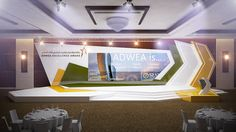 Design proposal for ADWEA Excellence Award Event - with Viola Communications