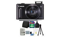 Canon Powershot SX610 HS 20.2MP 18X Zoom Wifi Enabled Camera Bundle