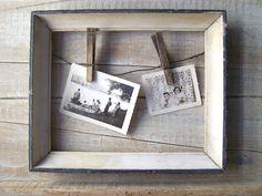 farmhouse decor   Farmhouse Kitchen Decor // Beach Cottage Frame // Recipe Holder ...