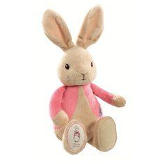 Peluche cadeau de naissance Peter Rabbit, version Flopsy rose. Chez Esprit British : http://www.esprit-british.com/categorie-produit/enfant-bebe/cadeau-naissance/