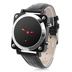 Unisex Red LED Pointer Style Black PU Band Digital Wrist Watch. Grab substantial discounts up to 50% Off at Light in the Box using Coupons & Promo Codes