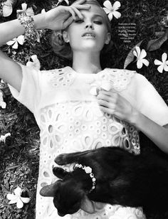 Kitties in Fashion...L'Officiel Singapore March 2012