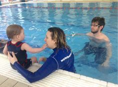 Review: Water Babies Swimming Lessons Chapter 4 Baby Swimming Lessons, Toddler Swimming, Swim Lessons, Cool Swimming Pools, Mommy And Me, 5 Ways, Aqua, Dads, Babies