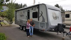 DAVID AND LYNDA's new 2017 Highland Ridge Light 216RBS! Congratulations and best wishes from Clear Creek RV Center and Paul Tyson.