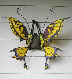Silk Swallowtail Butterfly Wings. $165.00, via Etsy.