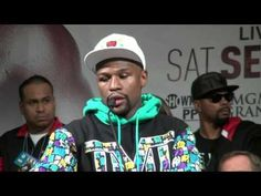 Floyd Mayweather Full emotional post fight press conference after beatin...