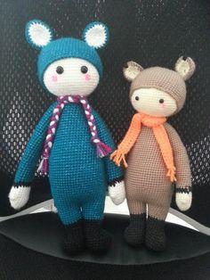 FIBi the fox made by Marianna B. / crochet pattern by lalylala