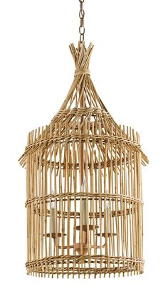 Organic elements and the human touch deliver just the right amount of exotic intrigue to the Tobago Lantern. This handcrafted piece made from Natural bamboo recalls the traditional huts that have been built on tropical islands for years. The lantern measures 19