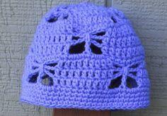 6c883c25fce Suzies Stuff  SUZIE S BUTTERFLY GARDEN CAP (C) Crochet Girls