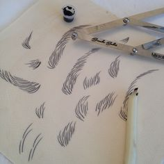 Having a play around on a Mat . - Eye Makeup tips Phibrows Microblading, Competition Makeup, Eyebrow Design, Feather Brows, Eyebrow Game, Eyebrow Embroidery, Semi Permanent Makeup, Perfect Brows, Doll Wigs