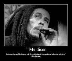 Frases con imágenes de Bob Marley ~ Para seguir creciendo