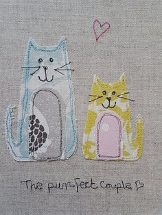 10 Brilliant Projects to Upcycle Leftover Fabric Scraps - Nedette Freehand Machine Embroidery, Free Motion Embroidery, Free Machine Embroidery, Embroidery Applique, Easy Sewing Projects, Sewing Projects For Beginners, Sewing Hacks, Sewing Crafts, Fabric Postcards