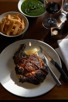 Rockpool Melbourne - best steak ever overlooking the Yarra!