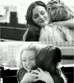 Besties! Simply love!!!! Leighton Meester and Blake Lively