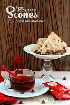 Pecan Chocolate Chip Scones