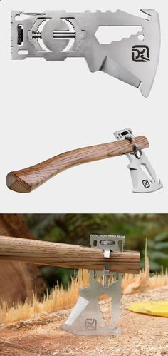 Cool multi-tool that turns into an ax - adventureideaz.comadventureideaz.com