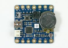 SquareWear 2.0 Wearable Open Source Arduino Board - The SquareWear 2.0 is an Arduino-based open-source wearable microcontroller board, that measures just 1.7 x 1.7 inches in size, and is equipped with a built-in LIR2032 rechargeable Lithium coin battery. | Geeky Gadgets