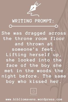 Writing Inspiration Prompts, Daily Writing Prompts, Book Prompts, Writing Prompts For Writers, Creative Writing Prompts, Writing Challenge, Book Writing Tips, Writing Words, Writing Skills