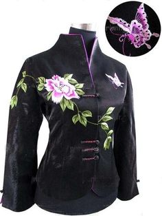 Embroidery Chinese Women's jacket/coat