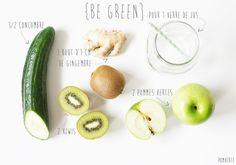 Jus {Be Green} #végétal #vegan