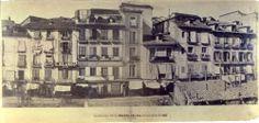 Puerta del Sol antes de la reforma, 1857.