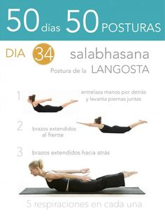 50 días 50 posturas. Día 34. Postura de la langosta