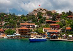 Near Island of #Kekova and Sunken City in #Antalya #Turkey. Can be visited on Kas - Kalkan - Myra - Kekova tour