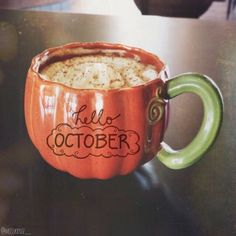 Everything Autumn. Sweater Weather, Pumpkin Patches, and Halloween. Hello October, Happy October, December, Autumn Aesthetic, Happy Fall Y'all, Cute Mugs, Hello Autumn, Autumn Inspiration, Autumn Ideas