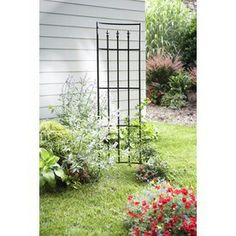 Shop Garden Treasures Curved Fleur De Lys Trellis At Loweu0027s Canada. Find  Our Selection Of Trellises At The Lowest Price Guaranteed With Price Match  + Off.