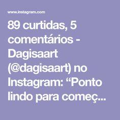 """89 curtidas, 5 comentários - Dagisaart (@dagisaart) no Instagram: """"Ponto lindo para começarmos a semana. #repost #fiosdemalha #fiodemalha #trapillo #trapilho #totora…"""""""