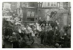 Brautwagen einer Emsdorfer Frau in (Stadt-)Allendorf, 1928