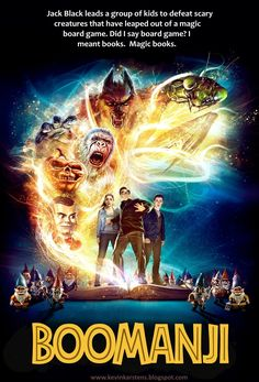 Goosebumps movie = Jumanji?...http://www.kevinkarstens.blogspot.com/