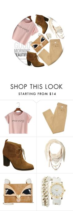 """""""Freedom"""" by ladrianag ❤ liked on Polyvore featuring Whiteley, Nicole, BCBGeneration, Betsey Johnson and Charlotte Russe"""