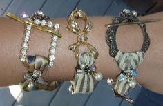 vintage broach bracelets