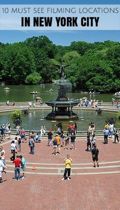 10 Must See TV and Movie Filming Locations in New York City Central Park, New York Trip Planning, Empire State Building, New York City Attractions, New York Movie, Places In New York, New York City Travel, New York Photos, Filming Locations