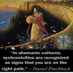 ∆ Synchronicity...I've always believed this. / I've been having lots of those…
