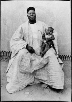 Seydou Keïta. Father and son